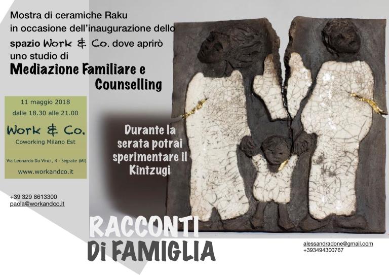 Mediazione familiare e Raku