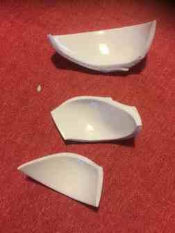 pezzo kintzugi rotto
